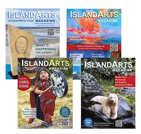 Island Arts Magazine covers